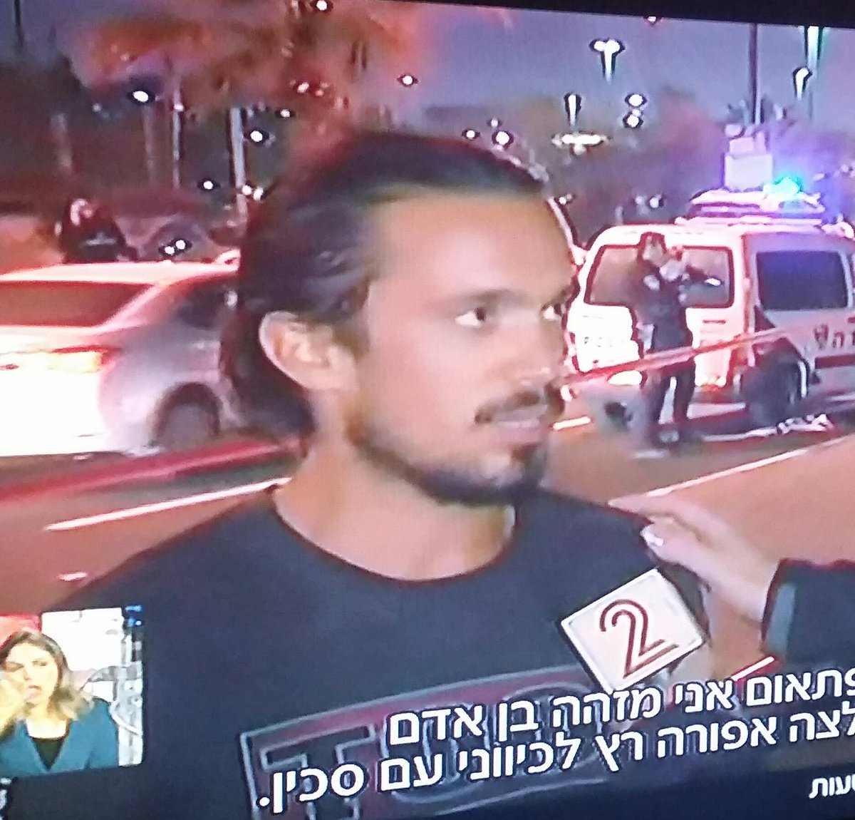 "Guy in ""Tool"" t shirt tells Ch 2 about running up and hitting terrorist in the head with a guitar https://t.co/RidwqPffnA"