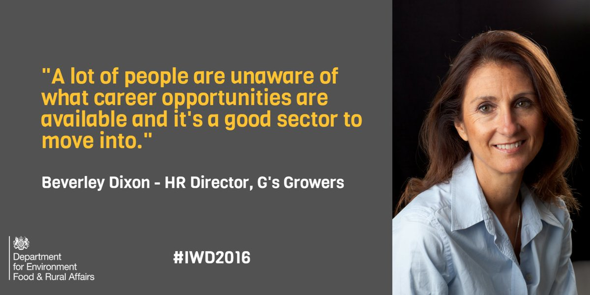 On #IWD2016 we celebrate #WomenInFarming and discuss how to improve access to farming careers with @BevDix https://t.co/HcAsPFw2oL