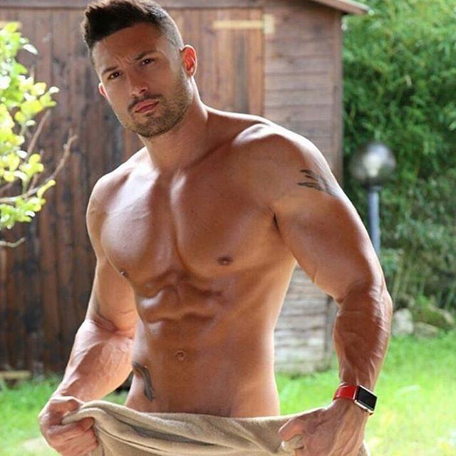 Hot body man image