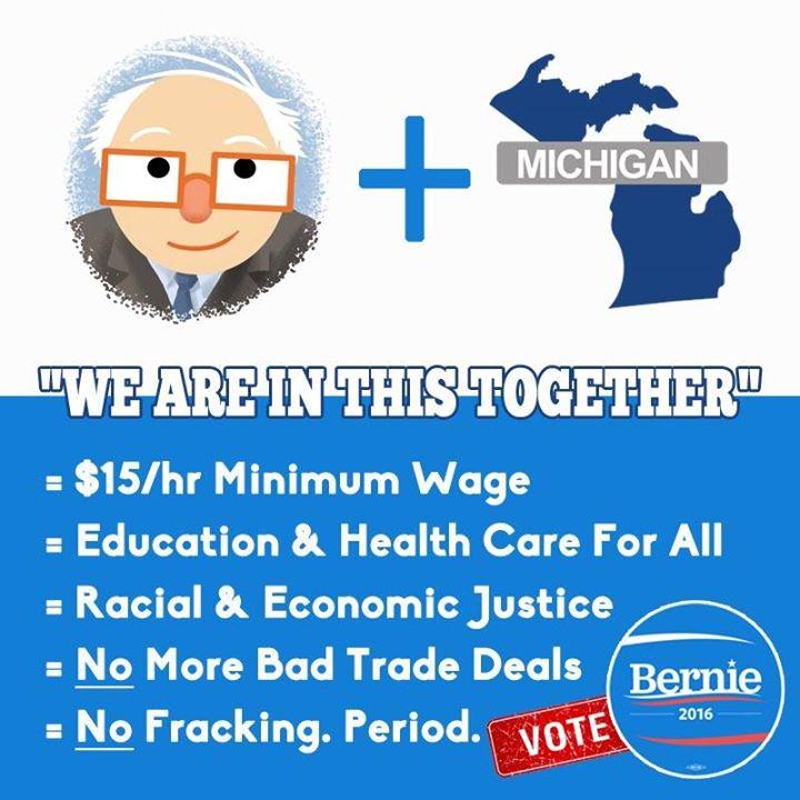 #Michigan #VoteBernie https://t.co/sY3Hof4D6y & record on #BernieSanders voter track site https://t.co/11KfuXbxid https://t.co/cgobL202uO