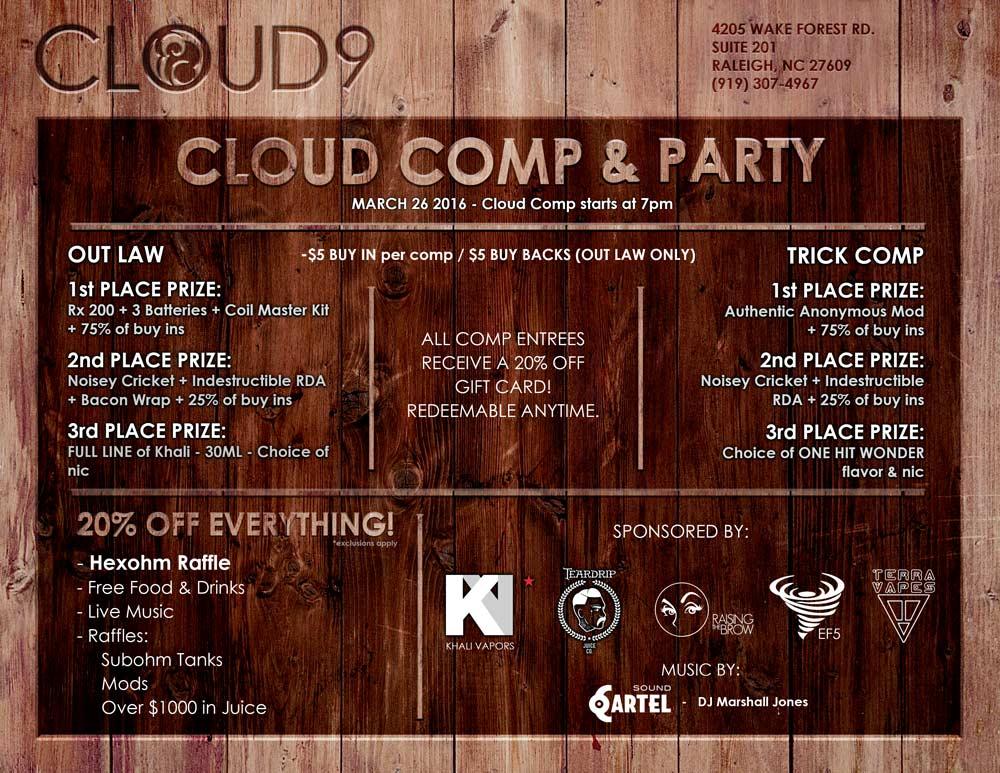 Cloud 9 Vapor NC (@9Vapor) | Twitter