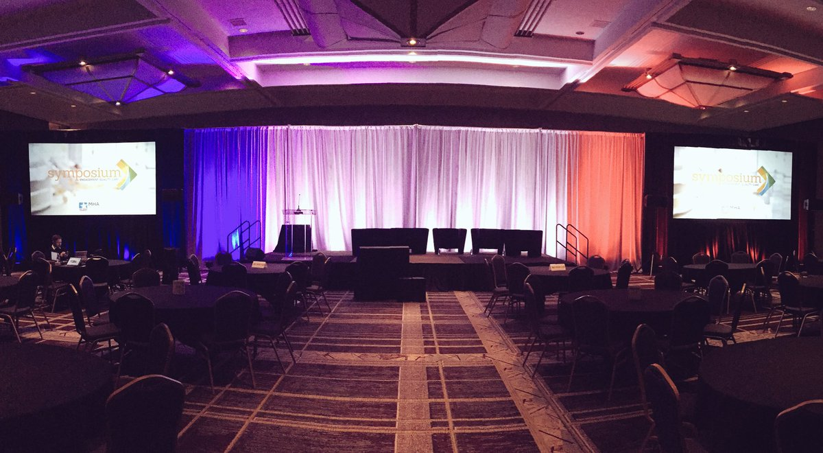 The stage is set for the MHA PatientSafety & Quality Symposium! Follow @MHAKeystoneCtr for live tweets! #MHAKeystone https://t.co/48LTO5nwHI