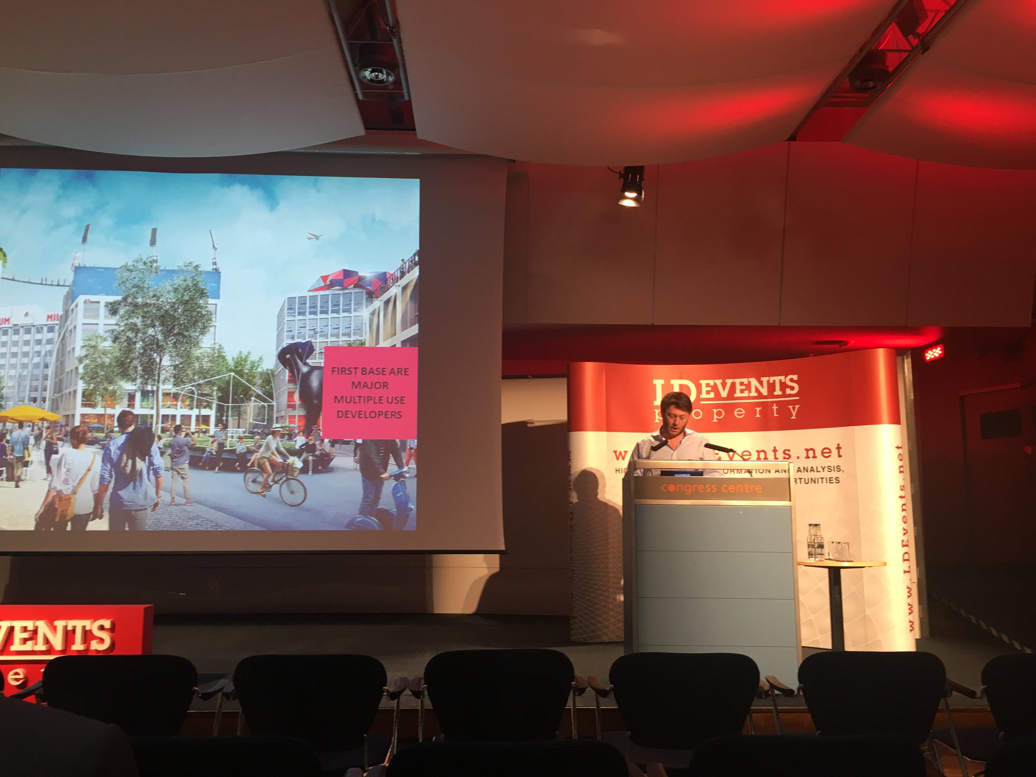 """First Base on Twitter: """"@FirstBaseUrban Barry Jessup at #LondonResi The future brings homes on water, underwater, underground and in the sky ..."""