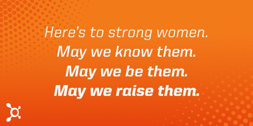Here's to the strong women. Happy #InternationalWomensDay, everyone! https://t.co/n42N8q9Dyu