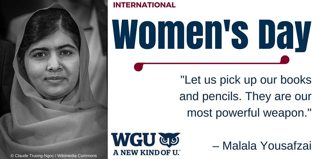 The power of education. #InternationalWomensDay https://t.co/Xo8MT3elw2