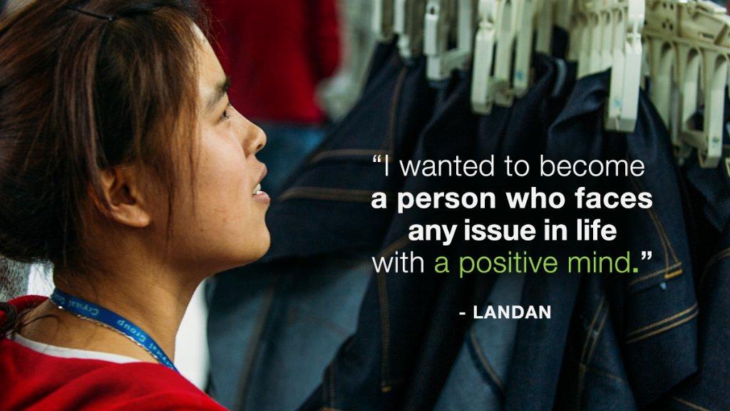 Meet LanDan, one of the inspiring women behind your 1969 denim #InternationalWomensDay https://t.co/Kq2FTnKdic #pace