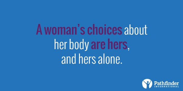 A1: It's about a woman's ability to control her own body. #choicematters #IWD2016 @genderhealth https://t.co/45QWvIfZpR