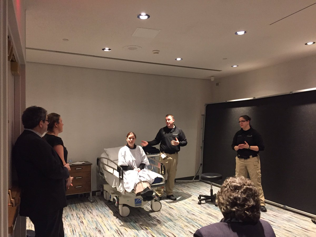 @SpectrumHealth Security team provide training on situational response #MHAKeystone https://t.co/hBpora4NgL