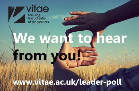 Thumbnail for Researcher, recognise and present yourself as a leader #vitaechat