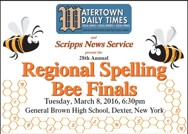 Regional Spelling Bee finals are tonight - we'll be live-tweeting here starting at 6:30! #NNYBee  #NNY @ScrippsBee https://t.co/W3hQeP39nJ