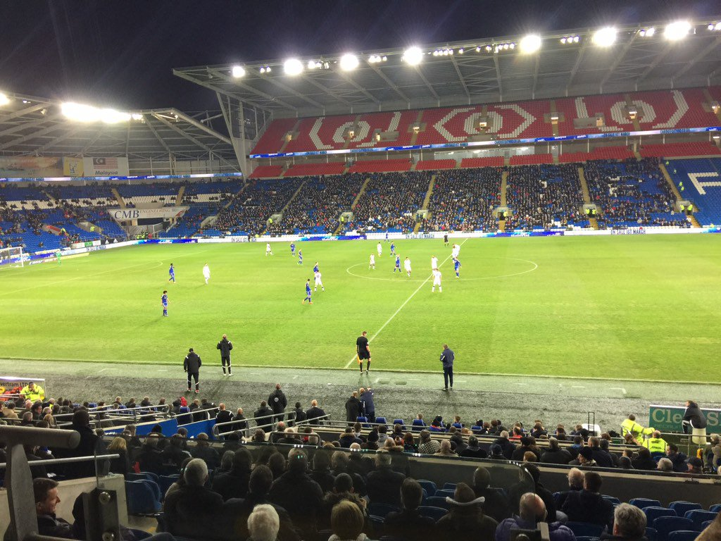 Watching my team @LUFC at Cardiff... Come on Leeds! https://t.co/ZblNfeCcM0