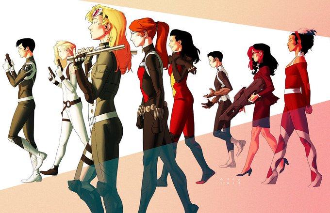 #Marvel, celebrating women since 1939 #InternationalWomensDay x https://t.co/K8VnEJ4E4r