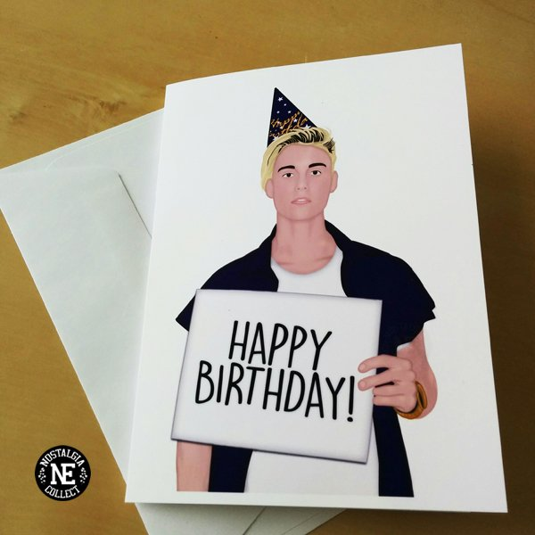 Nostalgia Collective On Twitter A Birthday Card For Bieber Fans In