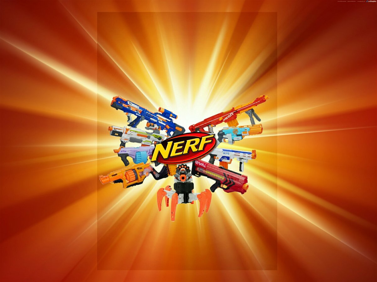 Erik Bentler On Twitter My First Wallpaper This Ones Of Nerf And Im Very Proud It Tco YWAwWOTsMy