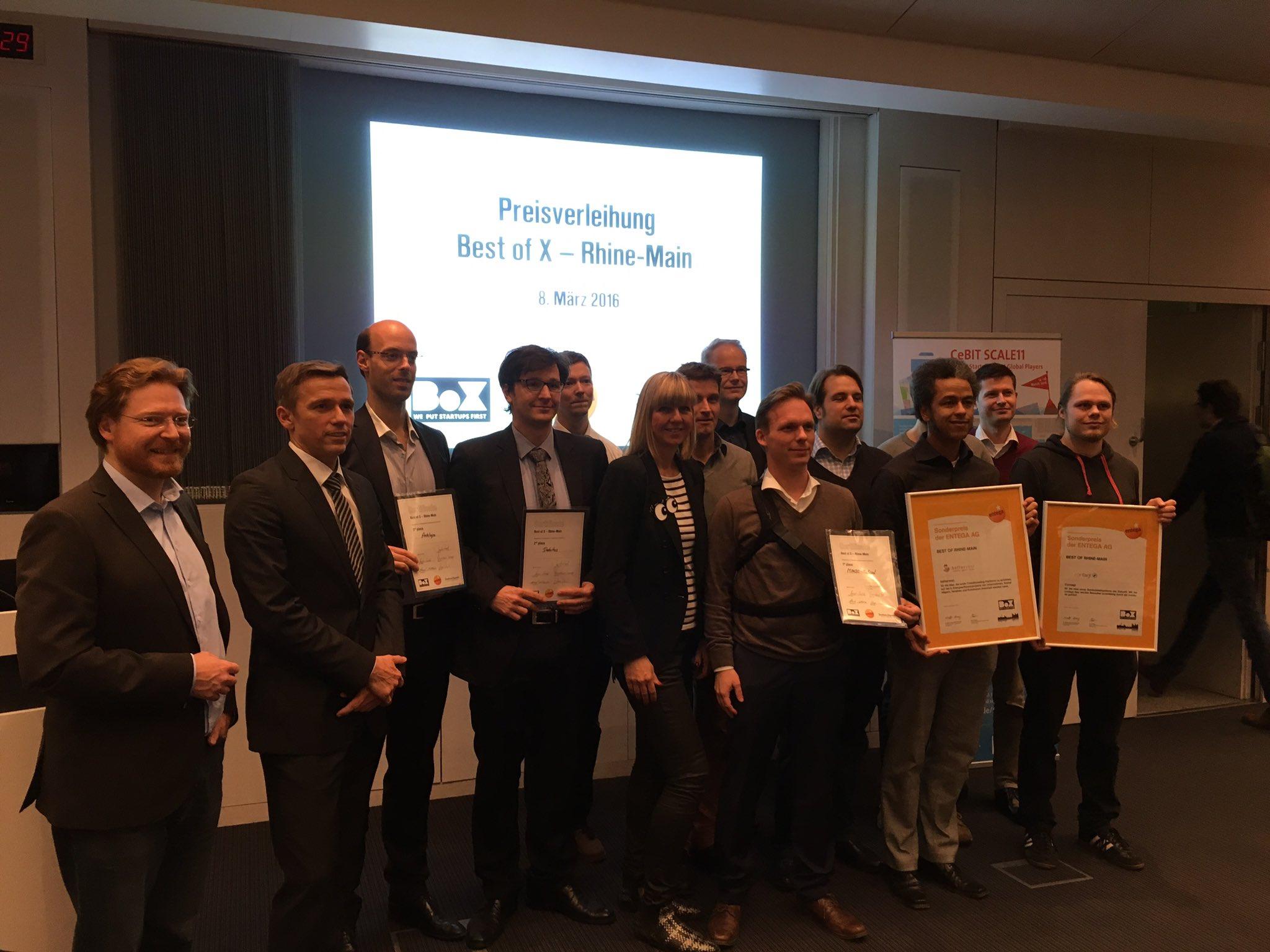 """MINDS-Medical gewinnt """"Best of X Rhine-Main"""" Startup Wettbewerb"""