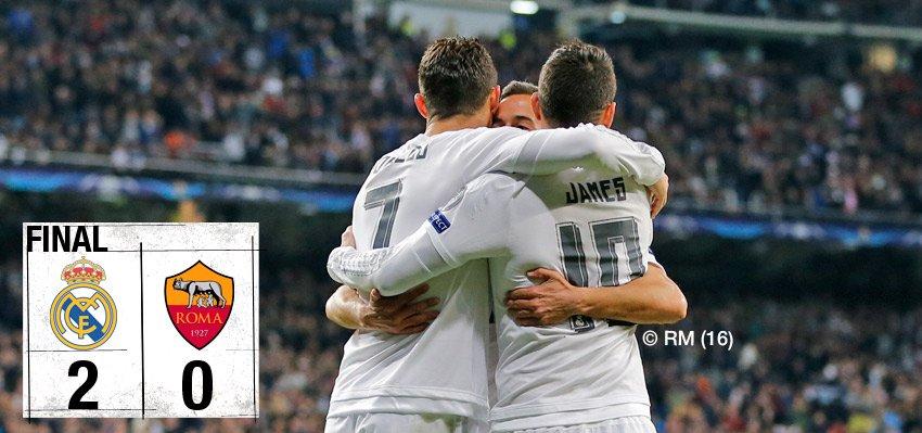 Real Madrid 2-0 Roma maçı geniş özet ve golleri izle - video