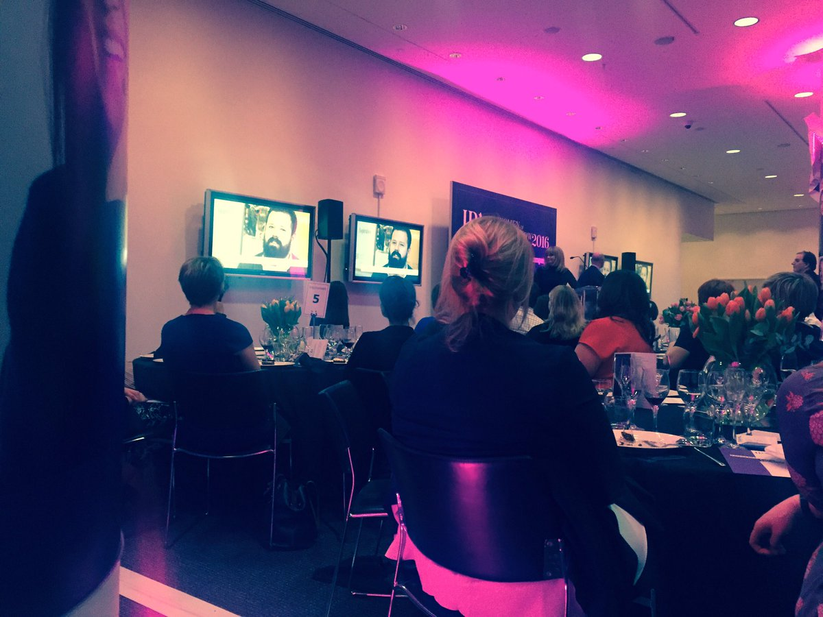 Surrounded by inspiring women at the @IPA_Updates @Campaignmag Women Of Tomorrow Awards #ChangeTheStats #IWD2016 https://t.co/8YRR30Ept9