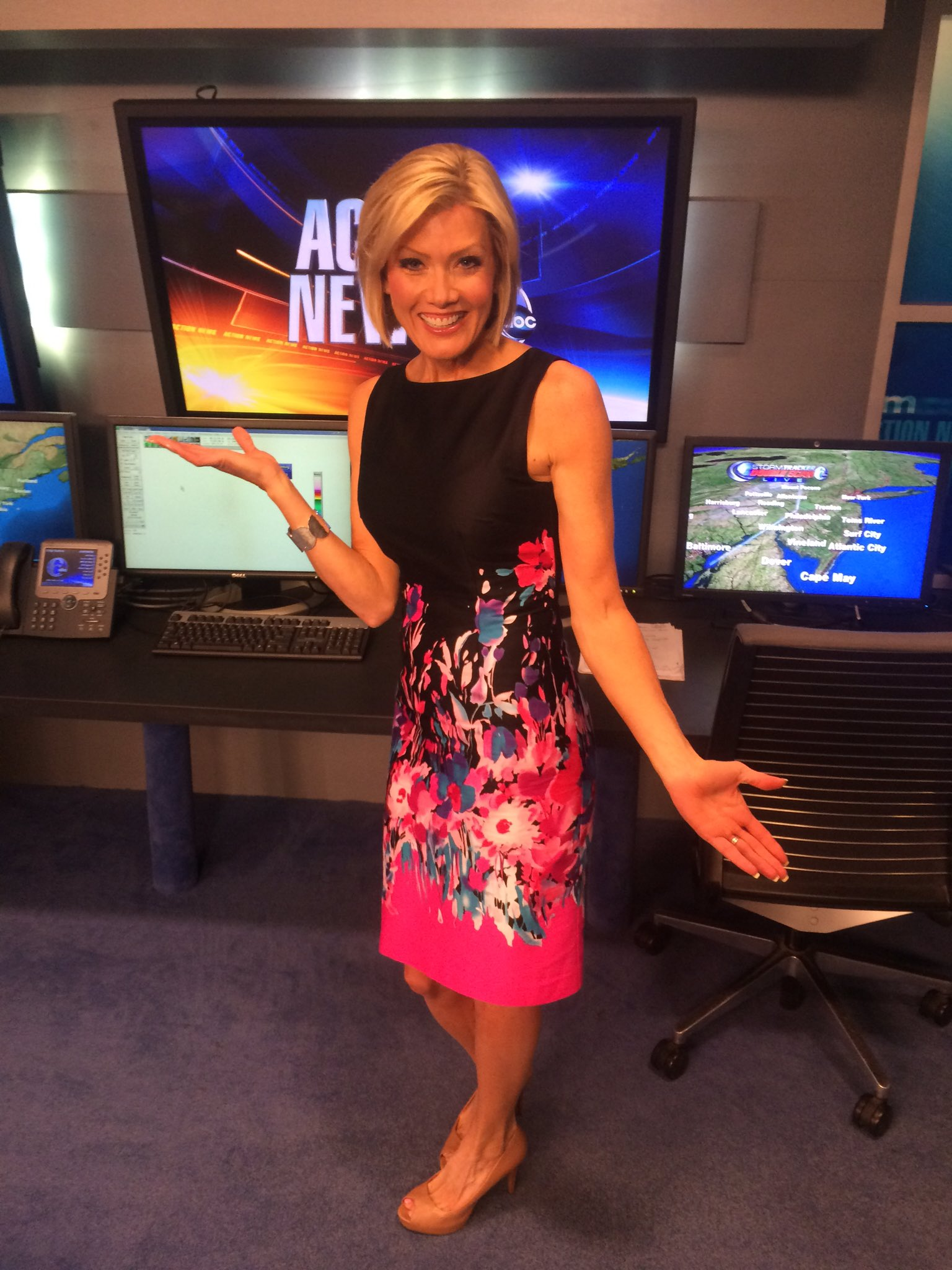 "Cecily Tynan on Twitter: ""Wearing a new spring floral ..."