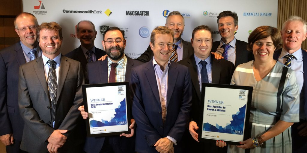 Aurecon wins 'Best Provider to Power & Utilities' and 'Best SA Firm' at the @beatonglobal #ClientChoiceAwards https://t.co/pzRcXDUDfG