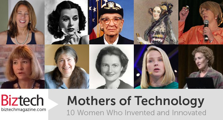 On #WomensDay we celebrate the mothers of technology - those who invented & innovated #tech https://t.co/8KK0FBCu6Q https://t.co/WTFL2ht9WA
