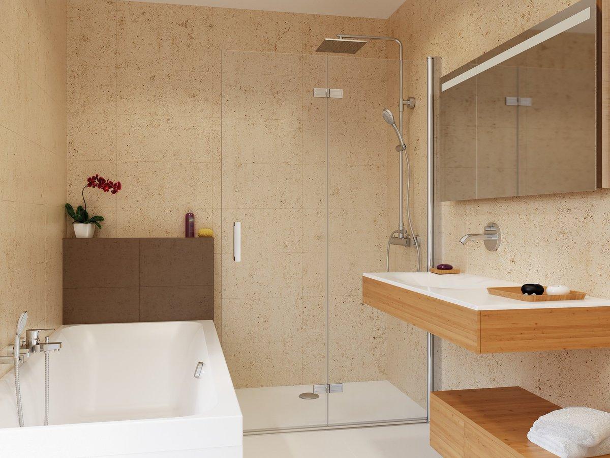 bad design heizung on twitter walk in dusche drehfalttr 100 x 220 cm freistehende duschtrennwand drehfalttuer 140 x 220 httpstcorpryagb0ua - Glaswand Dusche Walk In