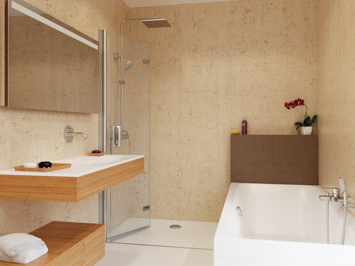 dewalk in dusche drehfalttuer 100 x 220 cmduschabtrennung duschkabine dusche duschwaende freistehende duschabtrennung glasduschtrennwand 100a 3994 - Glaswand Dusche Walk In