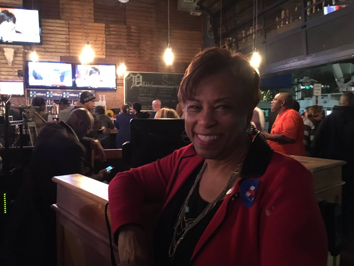 "Congresswoman Brenda Lawrence says she's on ""the edge of her seat"" watching the #MichiganPrimary results trickle in https://t.co/ZwhLgPTy5h"