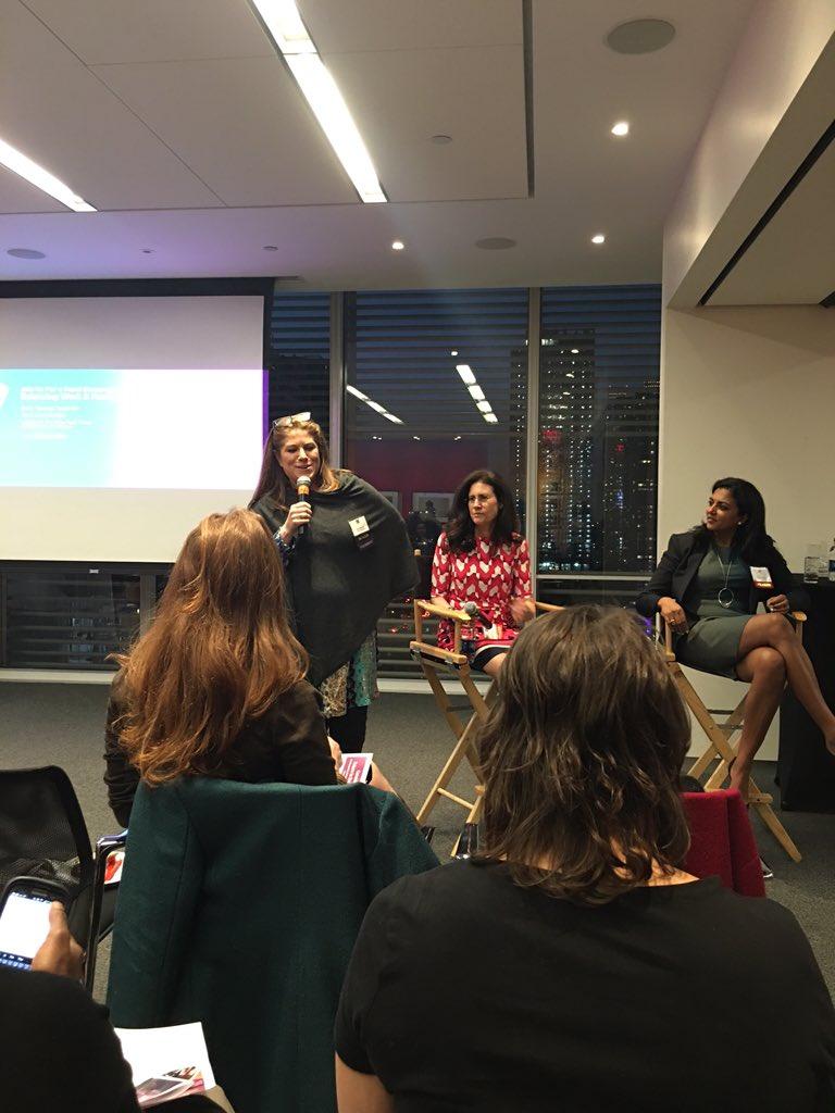 #NYWICI President @KimKelleher2 discussing the benefits of being a member of NYWICI. #worklifebalance https://t.co/NpdCXoiCn7