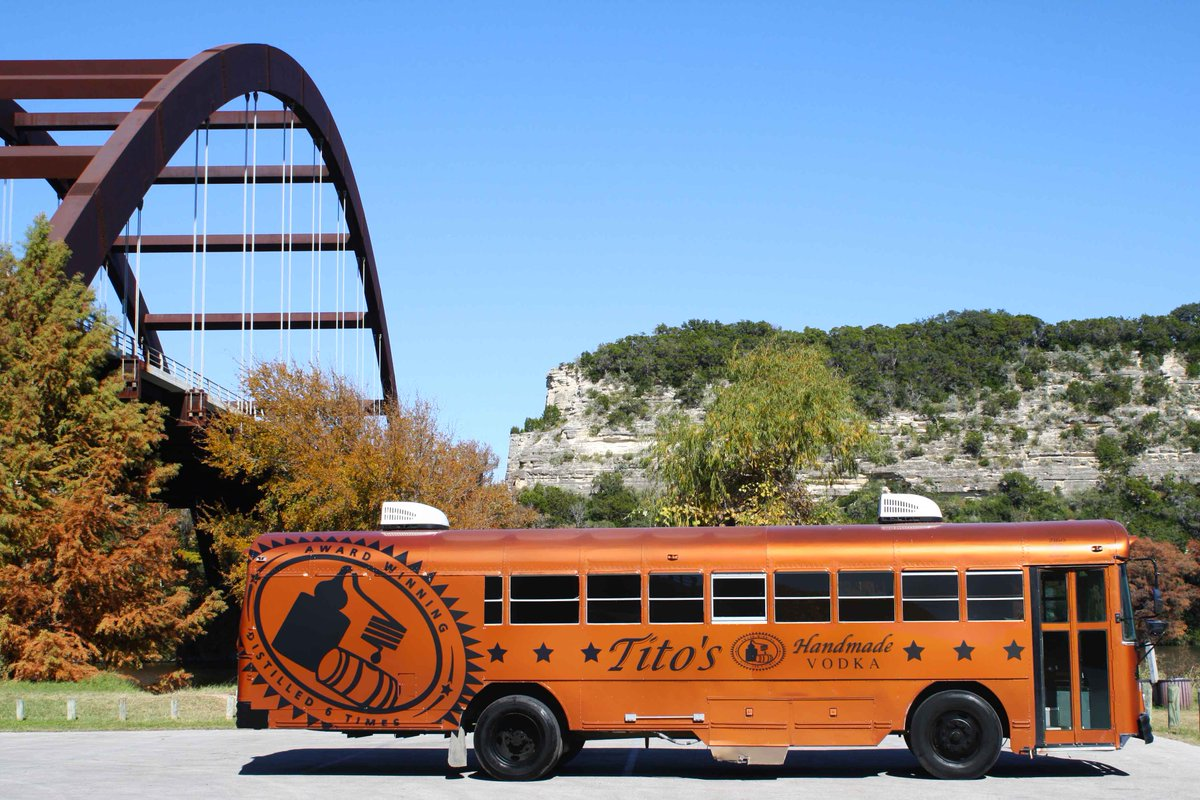 #SXSW is coming... stay tuned for #TitosBus details later this week! https://t.co/Q0lPIGYELa