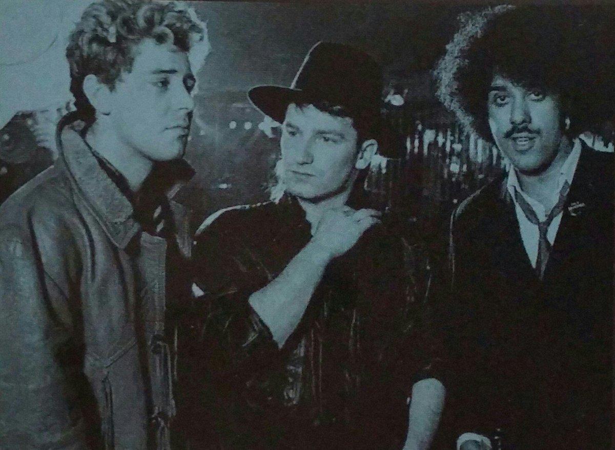 Thin Lizzy con Bono degli U2 e Adam Clayton