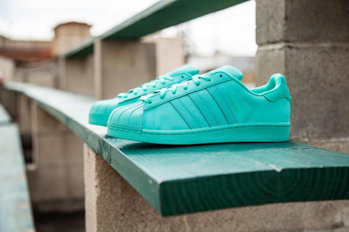 Adidas Superstar Mint Green