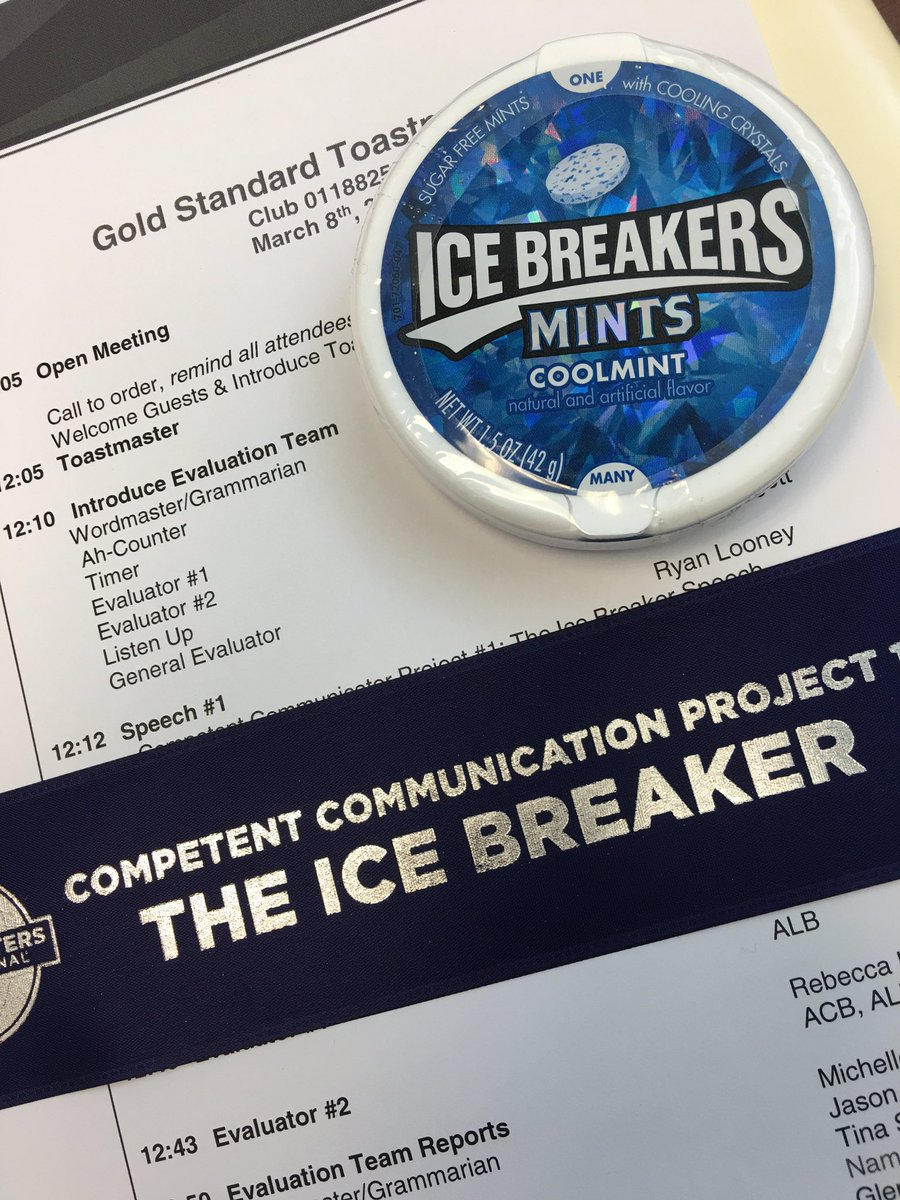 Toastmasters Icebreaker Download