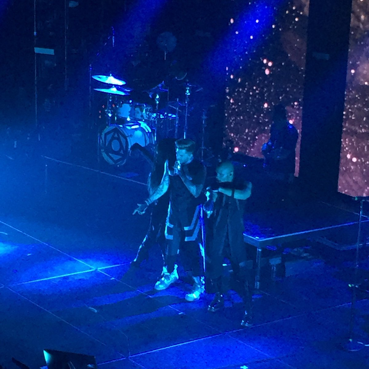Enjoying @adamlambert @TabernacleATL singing #Ghosttown https://t.co/v7cq6Vh00U