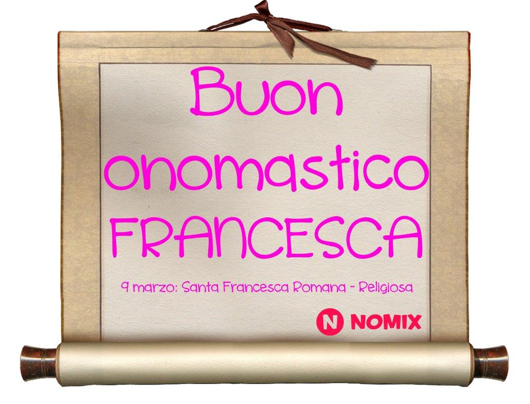 Nomix It On Twitter Auguri Di Buon Onomastico A Tutte Le