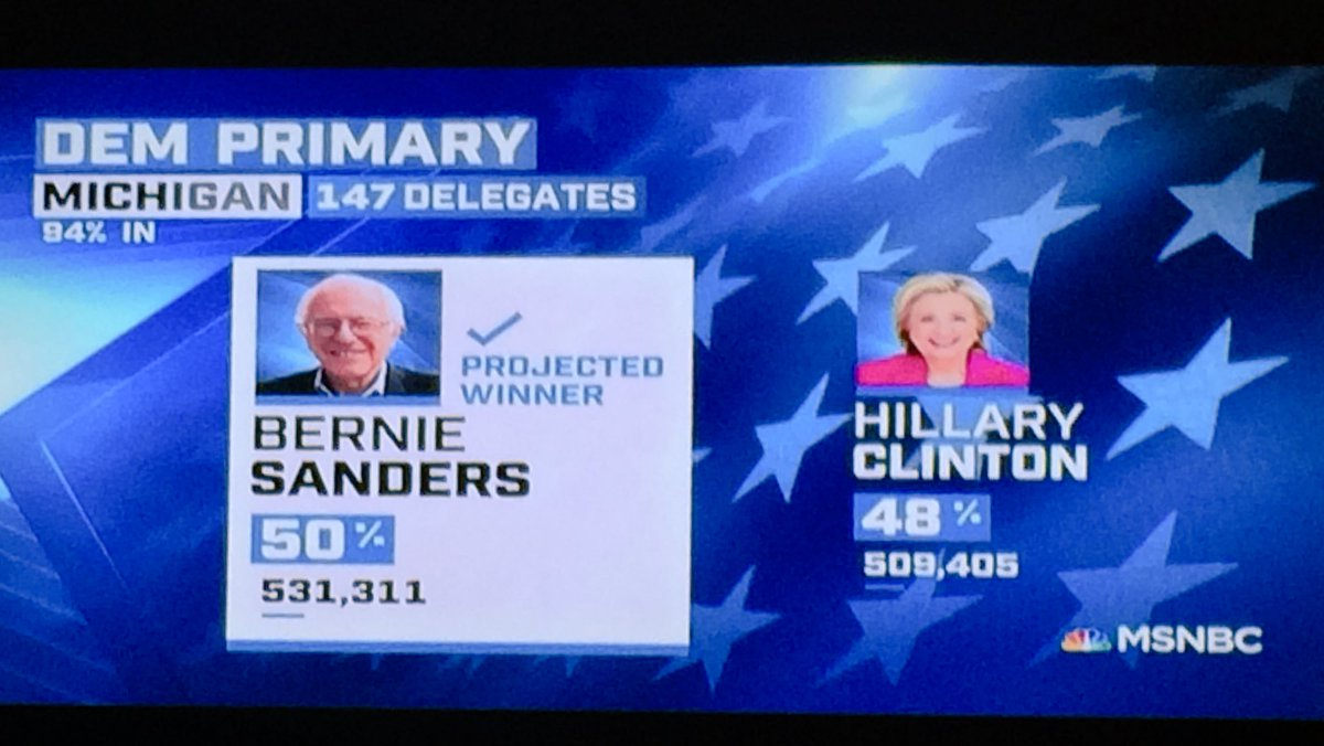 Bern, baby, Bern! #MichiganPrimary https://t.co/n65fzVCHKB