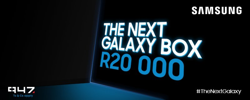 4500 #TheNextGalaxy retweets unlock the box! RT & you can stand a chance to WIN R20000 with @SamsungMobileSA https://t.co/Wr1R503Y5F