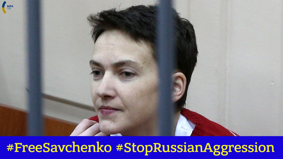 Thumbnail for The Whole World Calls on Russia to #FreeSavchenko