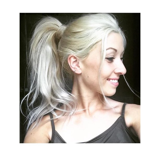 Milk and blush on twitter we are big fans of clunis super milk and blush on twitter we are big fans of clunis super voluminous ponytail created with her m b hairextensions in oh my gwen stefani 3 pmusecretfo Choice Image