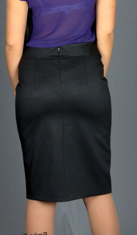 фото юбки джинсовой с кружевом