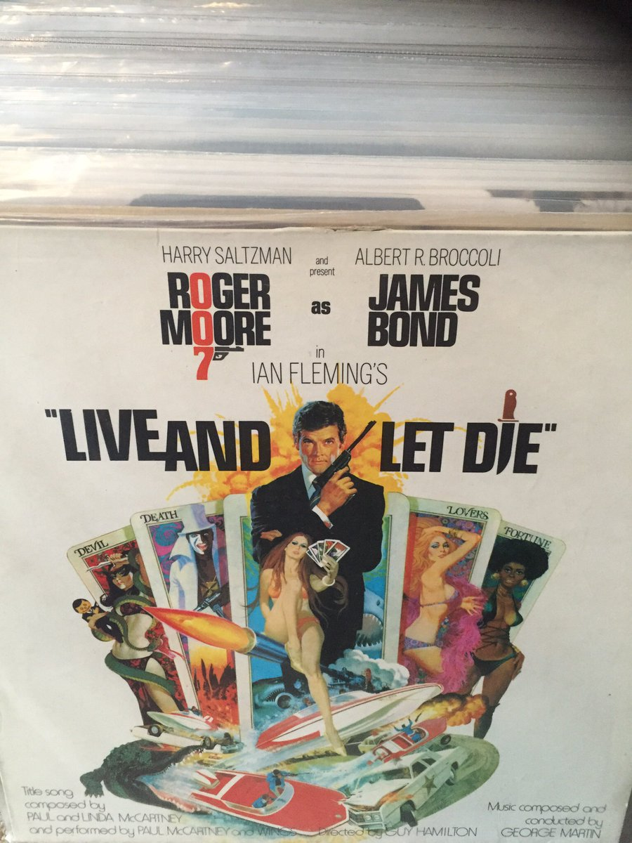 Let's not forget that George Martin also composed one of the greatest Bond soundtracks. '70s voodoo funk, anyone? https://t.co/mZGNo3pOZo