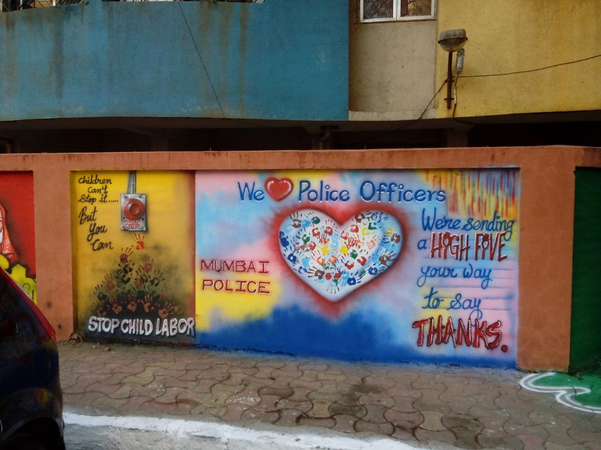 Swachh Bharat Urban On Twitter Wall Painting In Mumbai By