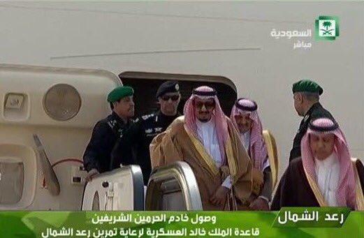 متابعة:-  #رعد_الشمال مناورة علي الأراضي السعودية بمشاركة إسلاميه وعربية واسعة - صفحة 8 CdGk3t_WoAQYsC2
