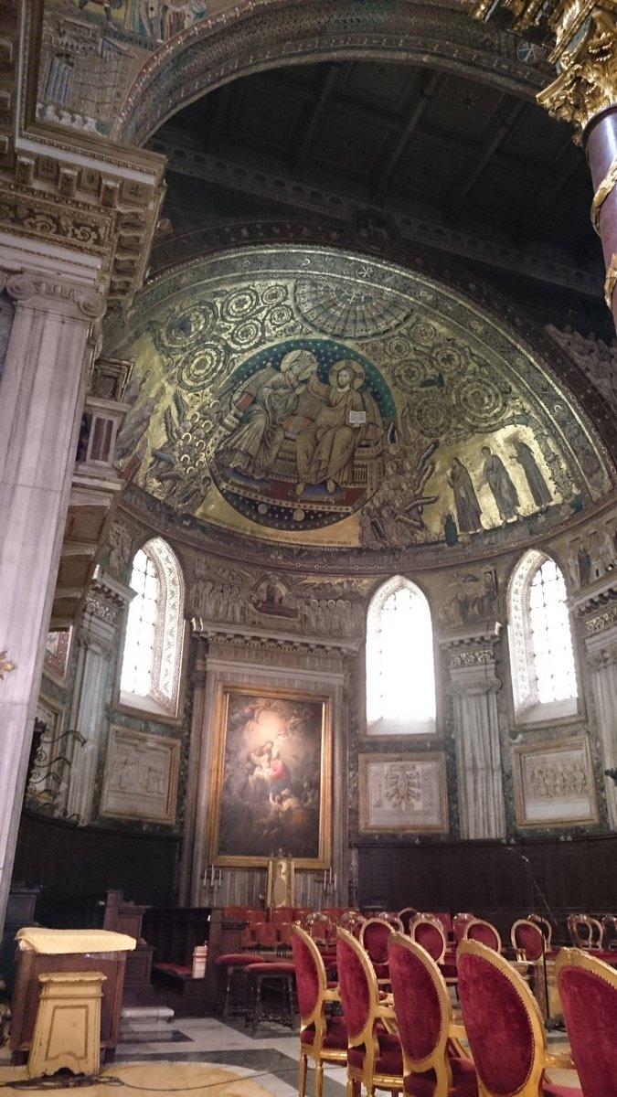 サンタ・マリア・マッジョーレには、ベルニーニのお墓があります!