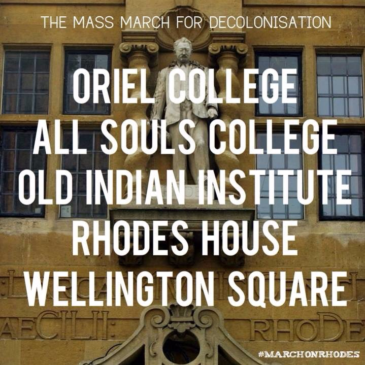If you're in Oxford join the #MarchOnRhodes https://t.co/9xLxlZBg7q