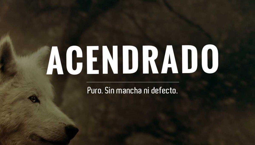 acendrado hashtag on Twitter