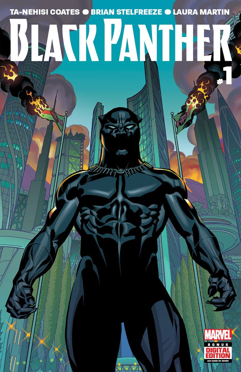 ADVANCE PREVIEW: 'Black Panther' #1 by Ta-Nehisi Coates and Brian Stelfreeze https://t.co/nuOhukrqe3 https://t.co/nkx3FO9UhI