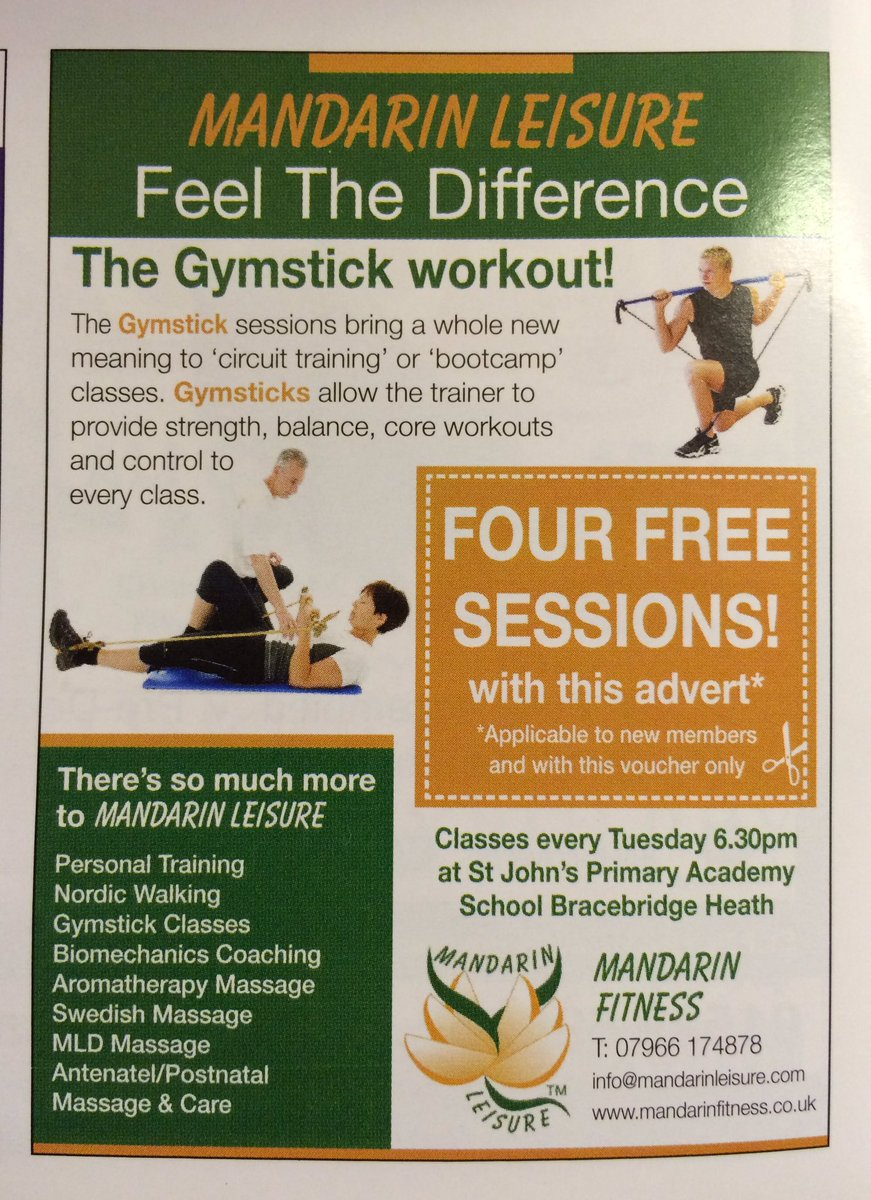 Have you seen my new advert in the latest #LincsScene magazine? It's a cracking deal for new members! #LincsConnect https://t.co/ojG5S0W39n