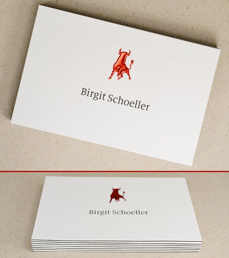 Metapaper On Twitter Visitenkarten Mit Heißfolienprägung