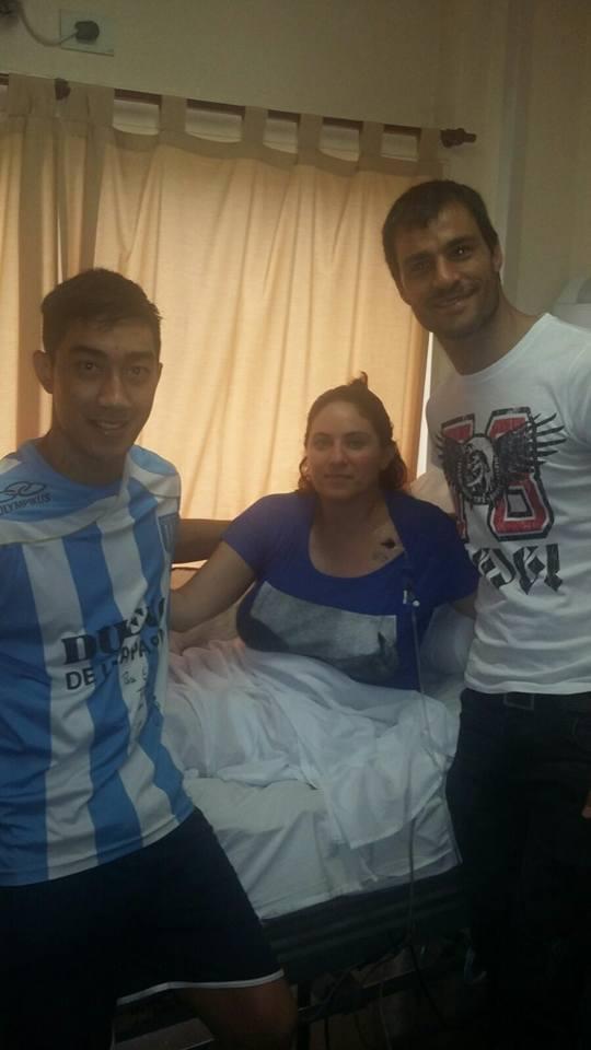 @BelenLoray @mauroszeta Felices de saber q Lucrecia Yudati  y Fernando han cumplido su sueño. Gracias Sebastian saja https://t.co/bQsn8R8TQL