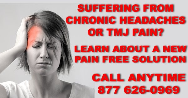 CALL US NOW IF YOU ARE A CHRONIC HEADACHE, MIGRAINE, TINNITUS OR TMJ SUFFERER  https://t.co/fRfd9kIigM https://t.co/xDxRdNm4oj